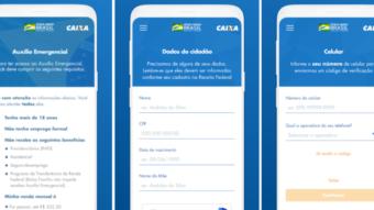 Caixa lança app e site de cadastro para auxílio de R$ 600