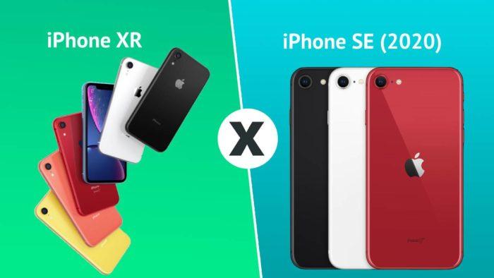 Comparativo: iPhone SE (2020) ou iPhone XR?