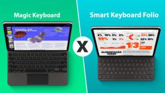 Comparativo: Magic Keyboard para iPad Pro ou Smart Keyboard?