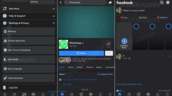 Facebook prepara modo noturno no app para iPhone e iPad