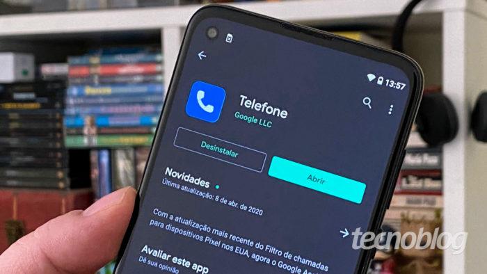 google app telefone tecnoblog