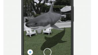 Como encontrar animais e objetos 3D no Google