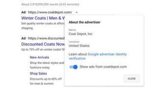 Google exigirá verificação de identidade de todos os anunciantes