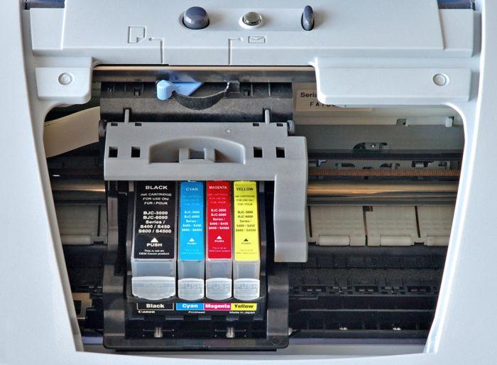 Impressora jato de tinta (Foto: André Karwath)