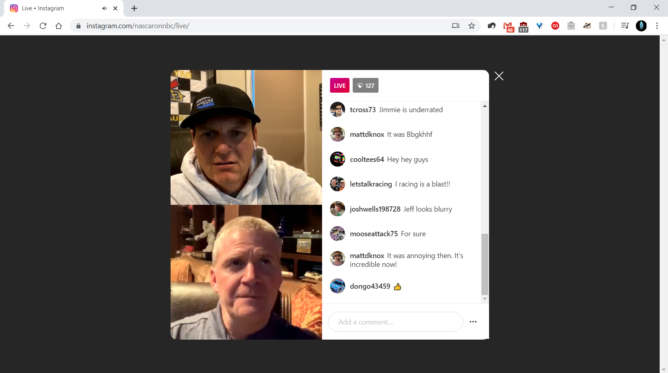 Reprodução de Instagram Live pelo computador (Foto: Reprodução/Android Police)
