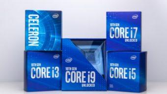 Intel anuncia chips Core i9 ao i3 de 10ª geração para desktops