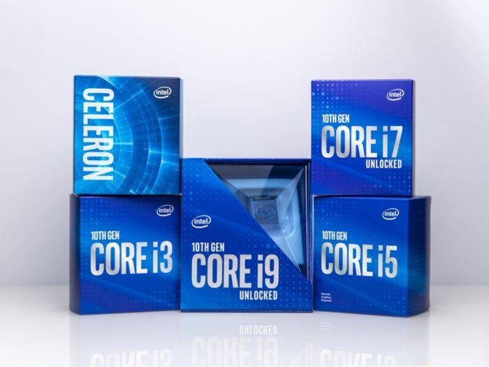 Intel Core décima geração