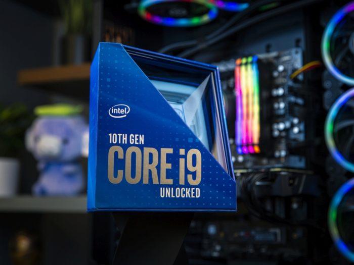 Intel Core i9 de décima geração