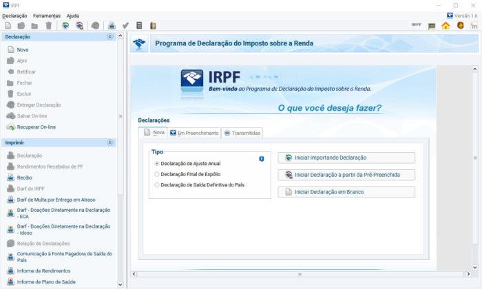 Windows / programa IRPF / Como baixar programa IRPF