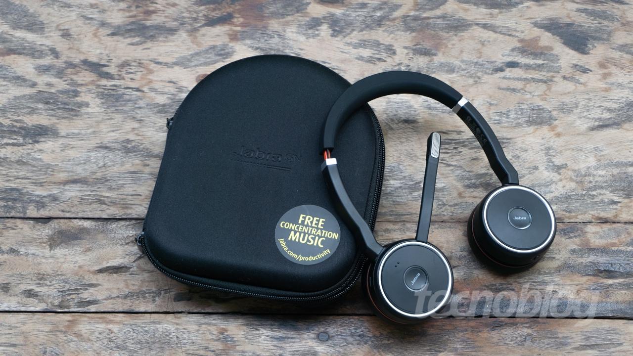 Jabra Evolve 75: um fone de ouvido para usar no trabalho miniatura