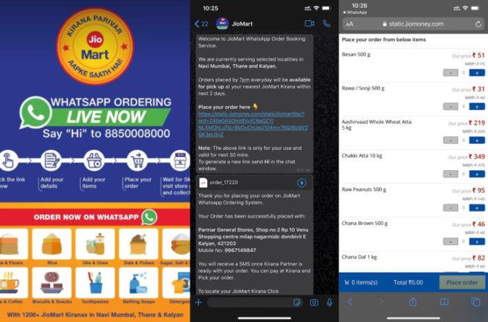 Facebook testa sistema para fazer compras de supermercado via WhatsApp