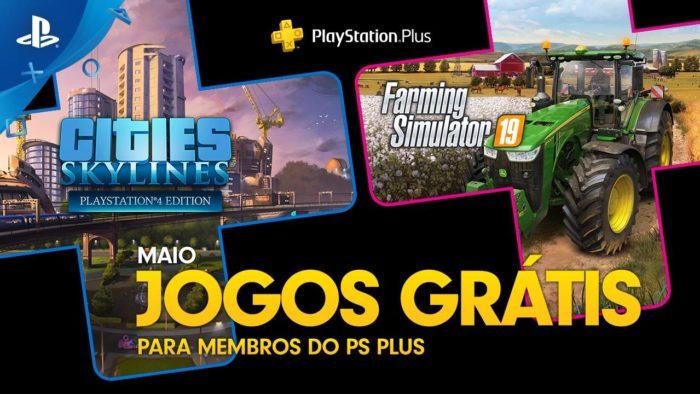 jogos gratuitos da PS plus em maio de 2020
