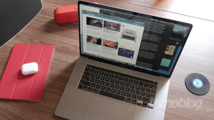 MacBook Pro de 16 polegadas (Imagem: Paulo Higa/Tecnoblog)