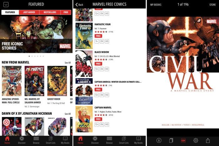 Marvel Comics grátis