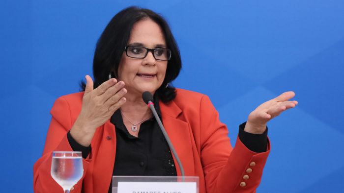Ministra da Mulher, Família e Direitos Humanos, Damares Alves (Foto: Isac Nóbrega/PR - 02/04/2020)