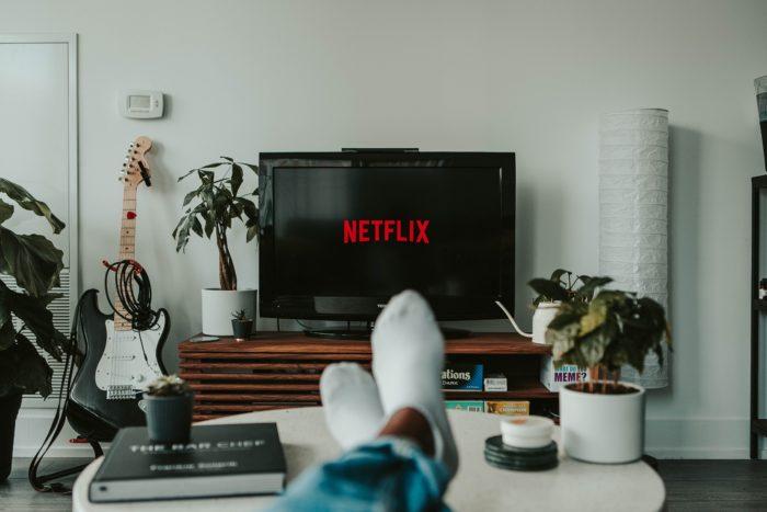 Assistindo Netflix na TV