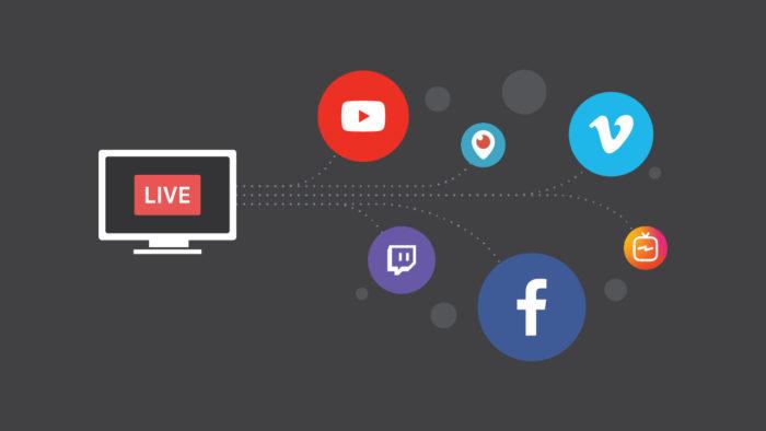 Multistreaming / Como fazer Live para vários lugares ao mesmo tempo