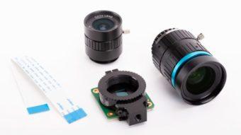 Raspberry Pi lança câmera com lentes intercambiáveis por US$ 50