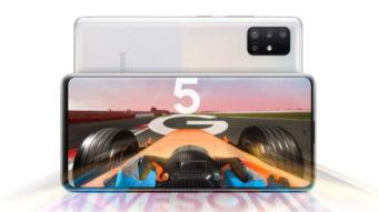 Samsung lança Galaxy A21, A51 5G e A71 5G com câmera quádrupla
