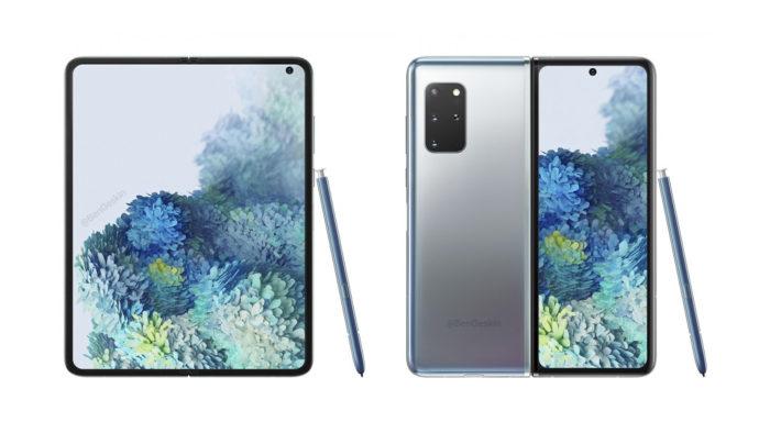 Conceito do Samsung Galaxy Fold 2 (Reprodução/Ben Geskin)