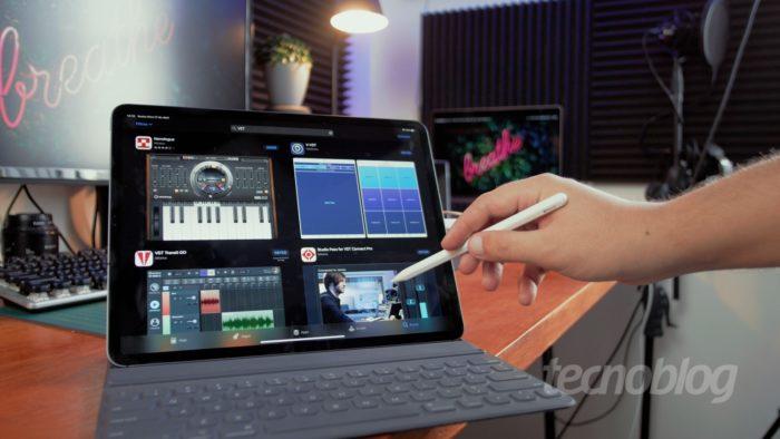 iPad Pro (Imagem: Paulo Barba/Tecnoblog)