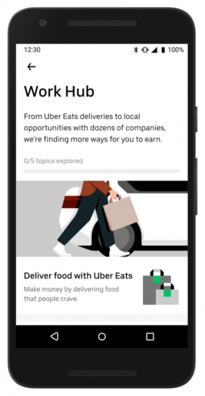 Uber Work Hub