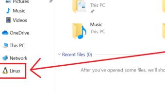 Windows 10 integra acesso ao Linux no Explorador de Arquivos