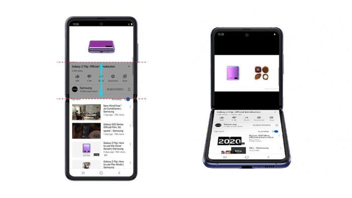 YouTube para Samsung Galaxy Z Fold recebe atualização que ativa Flex Mode
