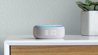 Amazon lança Echo Dot com relógio e Alexa no Brasil