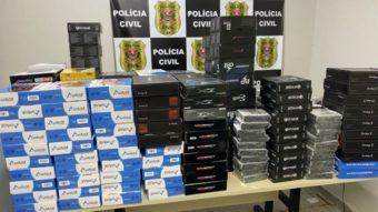 Polícia apreende 4,5 mil unidades de TV Box para IPTV pirata em SP