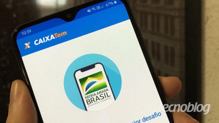 Aplicativo Caixa Tem (Foto: Lucas Lima/Tecnoblog)