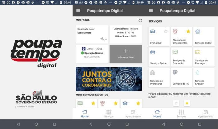 SP lança app Poupatempo Digital para obter 2ª via da CNH e mais documentos