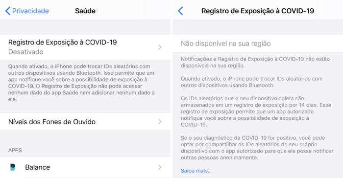 iOS 13.5 e COVID-19
