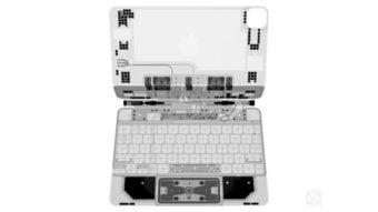 Apple Magic Keyboard para iPad Pro mostra detalhes internos em raio-X