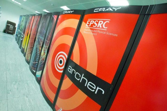 Supercomputador ARCHER (foto: Federica Pisani)