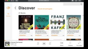 Amazon libera audiobooks grátis da Audible em português