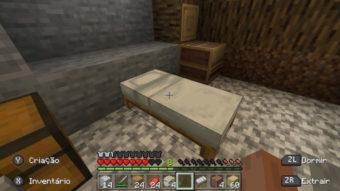 Como fazer uma cama no Minecraft