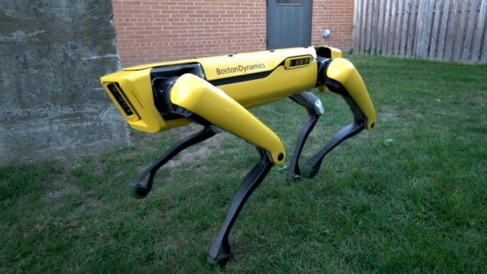 cão-robô Spot