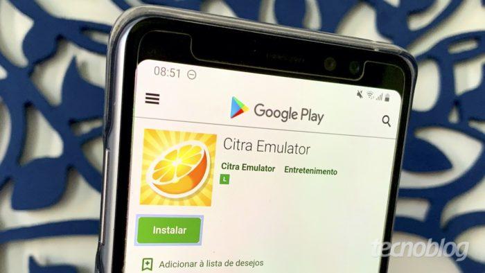 Emulador de Nintendo 3DS para Android: Citra (Foto: Bruno Gall De Blasi/Tecnoblog)