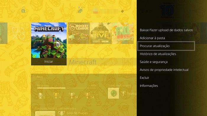 Como atualizar minecraft / Felipe Vinha / Foto
