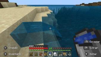 Como fazer um balde no Minecraft