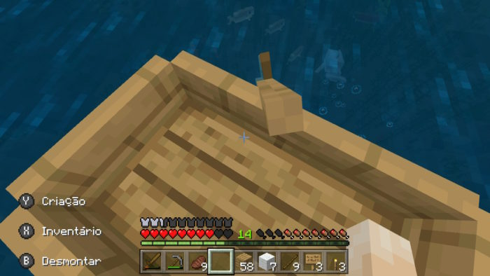 Como fazer um barco no Minecraft [Bote] / Felipe Vinha / Reprodução