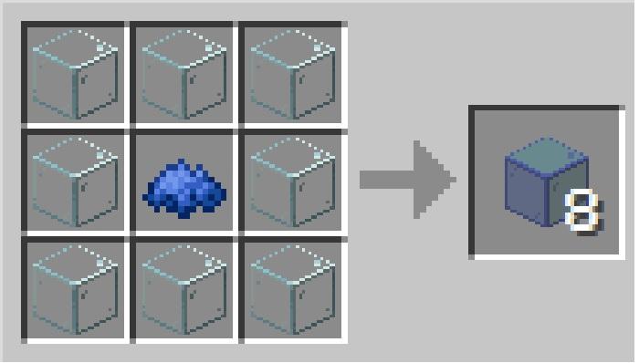 como fazer bloco de vidro no minecraft / Leandro Kovacs / Screenshot