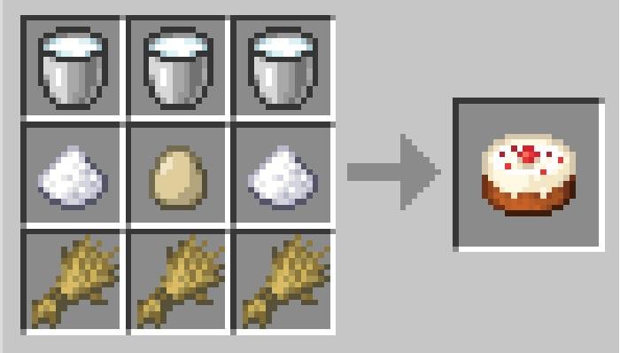 como fazer um bolo biscoito e pão no minecraft / Leandro Kovacs / Screenshot