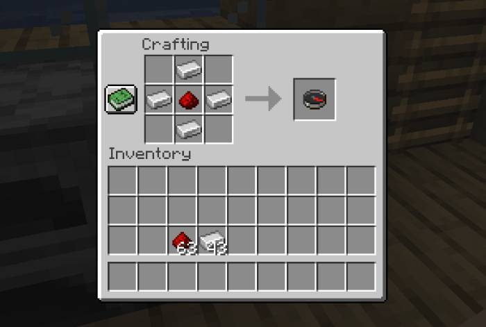 Como fazer bússola no Minecraft / Diego Melo / Reprodução