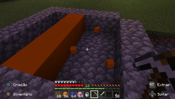 como fazer blocos de concreto no minecraft / Leandro Kovacs / Screenshot