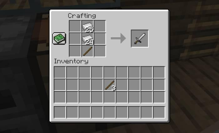 Como fazer espada no Minecraft / Diego Melo / Reprodução