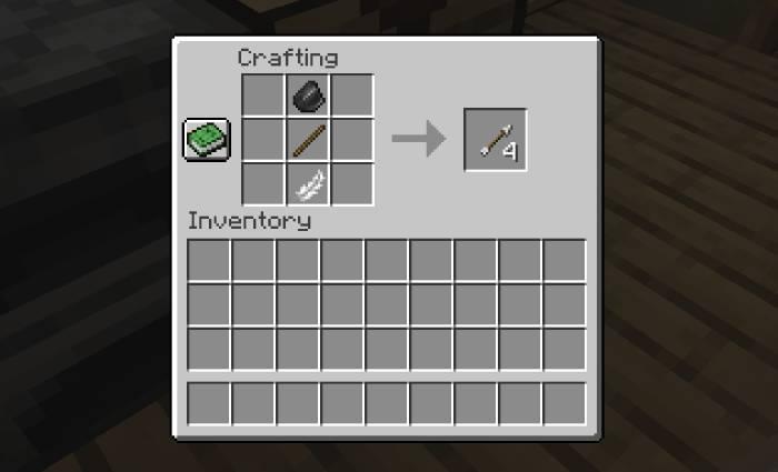 Como fazer flecha no Minecraft / Diego Melo / Reprodução