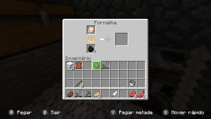 Como fazer uma fornalha no Minecraft / Felipe Vinha / Reprodução