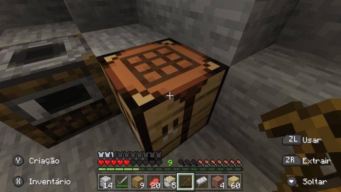 Como fazer uma mesa de encantamento no Minecraft / Felipe Vinha / Reprodução